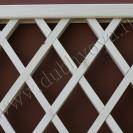 Декоративная деревянная решетка